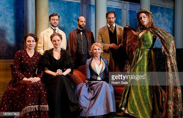 "Front row: Stella Feehily, Amanda Quaid, Trudie Styler and Rachel Spencer Hewitt. Back row: Alan Cox, Slate Holmgren and Rufus Collins attend ""The..."