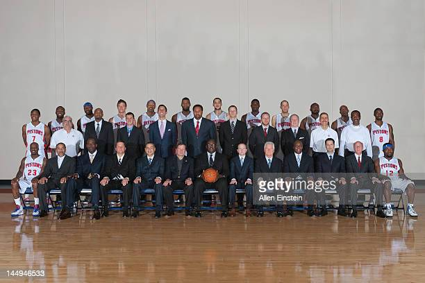 Front row Walker Russell Jr Scout Durand Walker Assistant Coach Roy Rogers Assistant Coach John Loyer Vice President of Basketball Operations Scott...