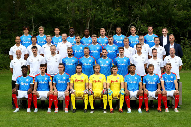 DEU: Holstein Kiel - Team Presentation