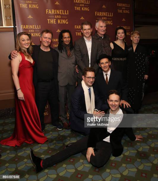 Front Sam Crane Iestyn Davies Mark Rylance Back Margot White Colin Hurley Huss Garbiya Lucas Hall Edward Peel Melody Grove and Claire Van Kampen...