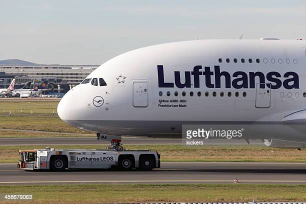 Front section of towed Airbus A380