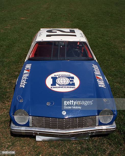 Front shot of Bobby Allison's 1974 AMC Matador taken in August 1984 from the collection of the International Motorsports Hall of Fame at the...