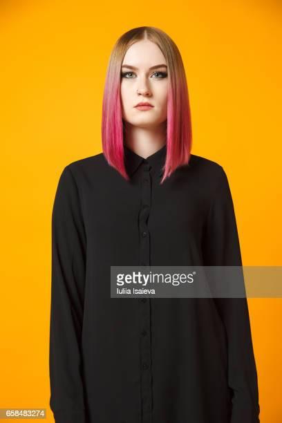 Front shot of female model