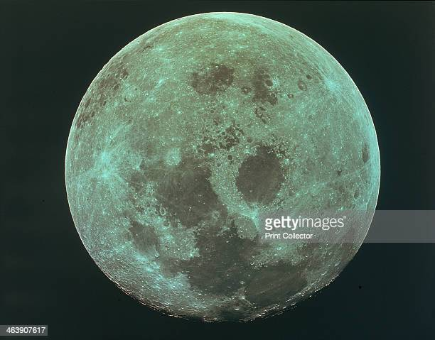Front side of the moon 22 July 1969 This picture was taken by the Apollo 11 astronauts on their way back to earth after their historic moon landing...
