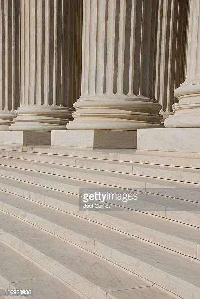Front Steps of US Supreme Court