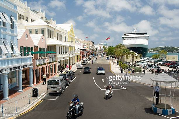 front street, hamilton - henry street stock pictures, royalty-free photos & images