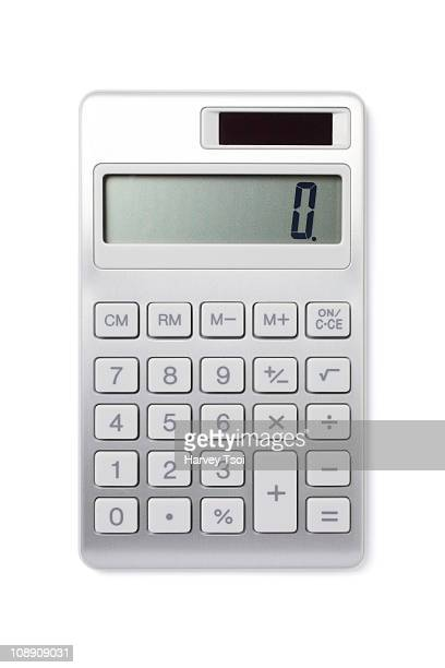 Front View of a Calculator
