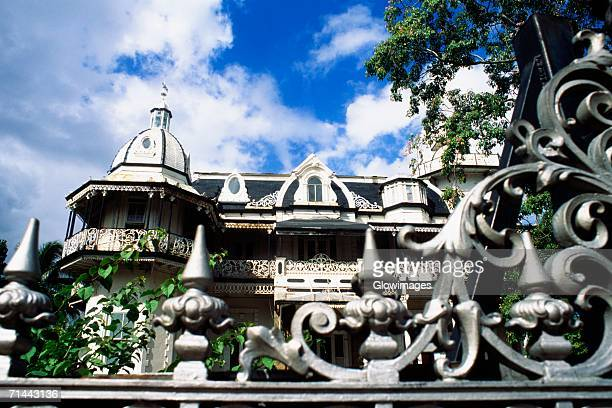 Front view of Ambard's House, Port of Spain, Trinidad, Caribbean