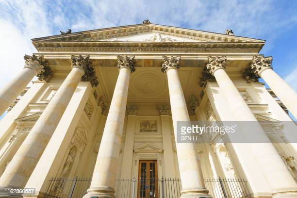 front view of berlin concert hall, berlin, germany - konzerthaus berlin stock pictures, royalty-free photos & images