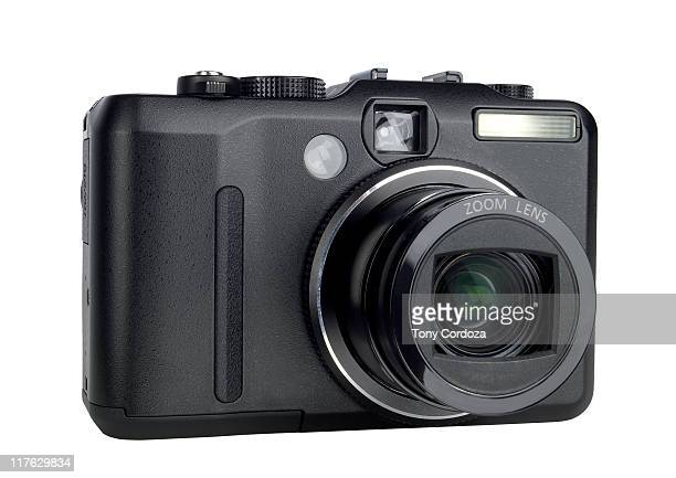 Front view of digital camera