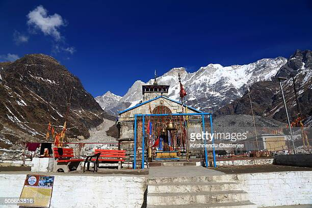 Front View of Kedarnath Temple