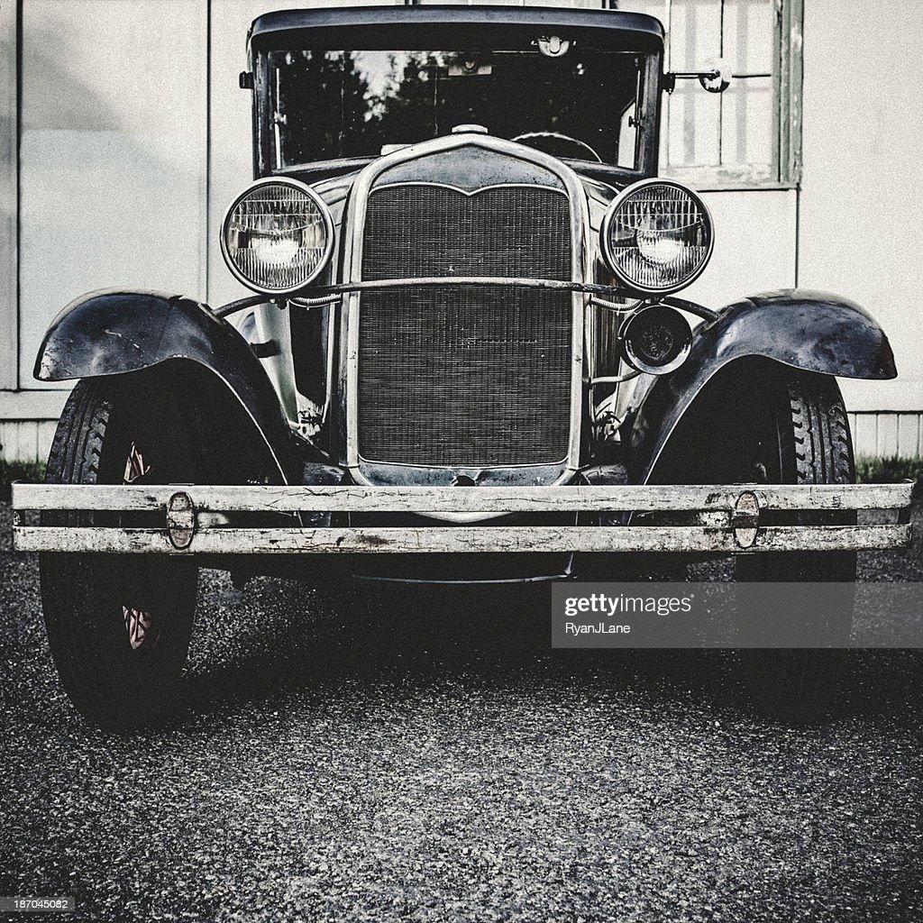 Vorderansicht des Model T : Stock-Foto