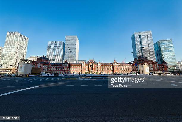 Front View of the Tokyo Railway Station