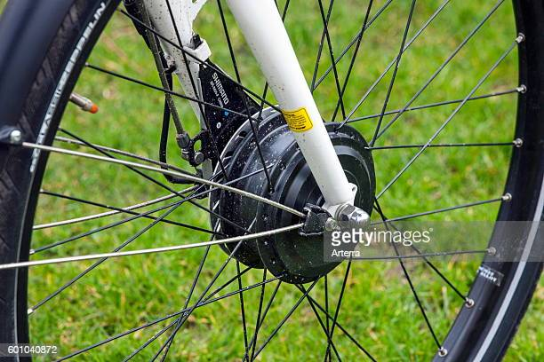 Front wheel hub of pedelec / ebike / electric bicycle