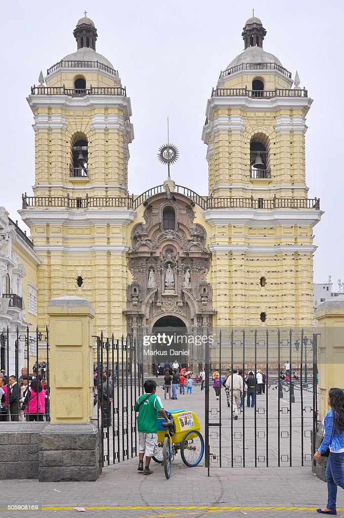 Church and Convent Of San Francisco, Lima, Peru : News Photo