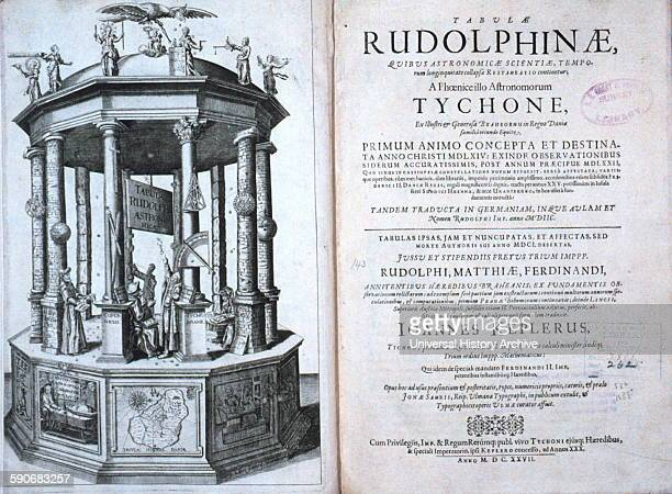 Tabulae Rudolphinae quibus astronomicae by Johannes Kepler 15711630