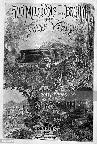 Frontispiece for 'Les 500 millions de la Begum' of Jules Verne by Benett