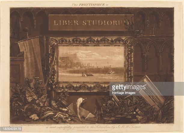 Frontispiece, published 1812. Artist JMW Turner.