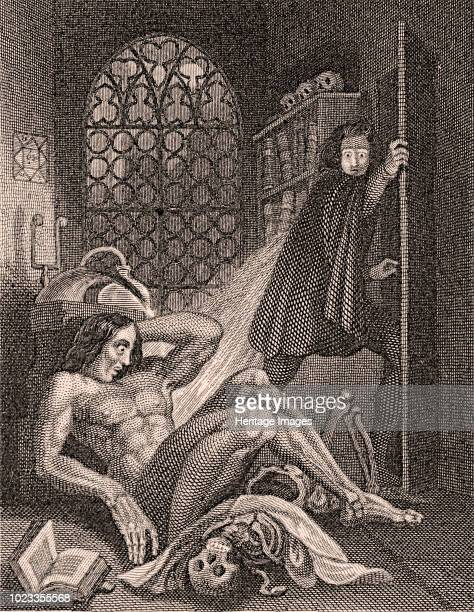 Frontispiece to Frankenstein by Mary Shelley 1831 Private Collection