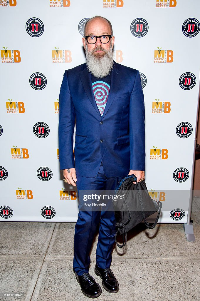 M. frontman Michael Stipe attends the 5th Annual Mario Batali Foundation Honors dinner honoring Jose Andres at Del Posto Ristorante on October 16, 2016 in New York City.