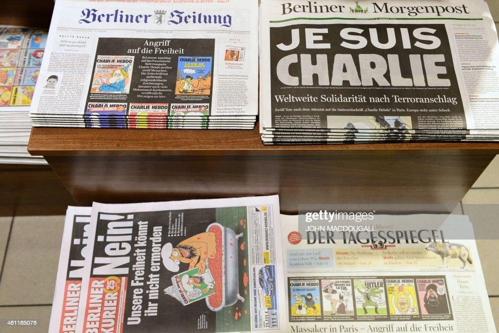 Frontpages Of German Newspapers Berliner Zeitung Berliner News Photo Getty Images