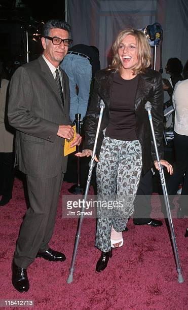 Frooz Zehedi and Eleanor Mondale during Austin Powers Los Angeles Premiere at Mann's Chinese Theater in Hollywood California United States