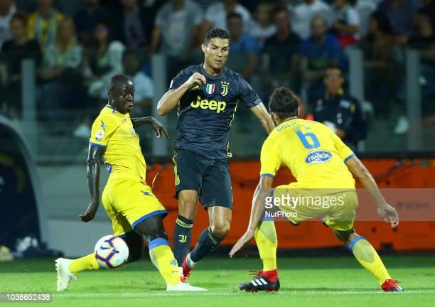 Frosinone v Juventus Serie A Cristiano Ronaldo of Juventus at Benito Stirpe Stadium in Frosinone Italy on September 23 2018