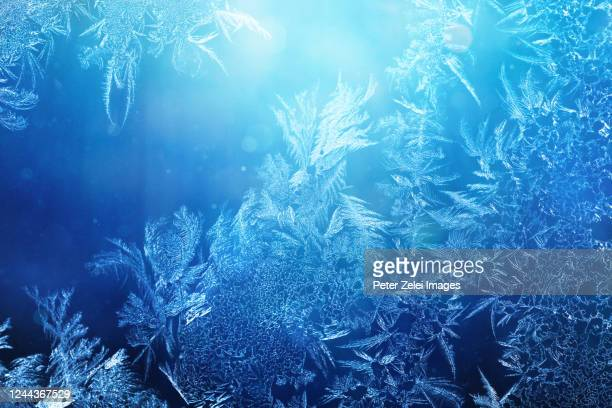 frosted glass background - frost stock pictures, royalty-free photos & images