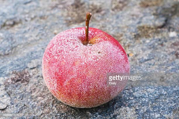 Frosty apple.
