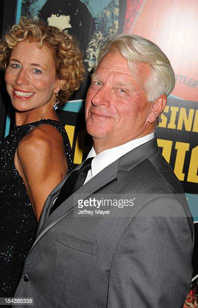 Frosty Hesson arrives at the 'Chasing Mavericks' - Los Angeles Premiere at Pacific Theaters at the Grove on October 18, 2012 in Los Angeles,...