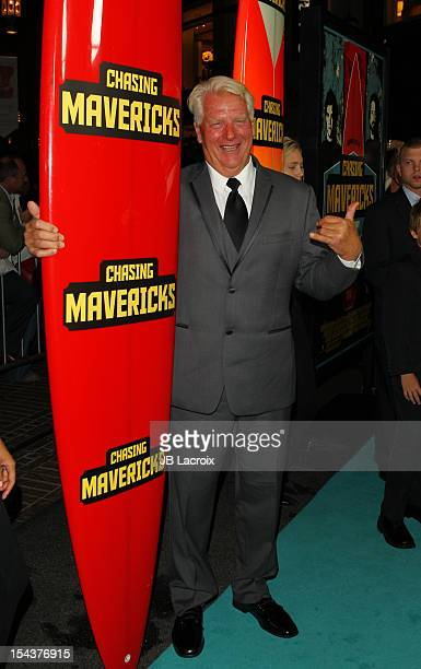 """Frosty Hesson attends the """"Chasing Mavericks"""" Los Angeles Premiere held at Pacific Theaters at the Grove on October 18, 2012 in Los Angeles,..."""