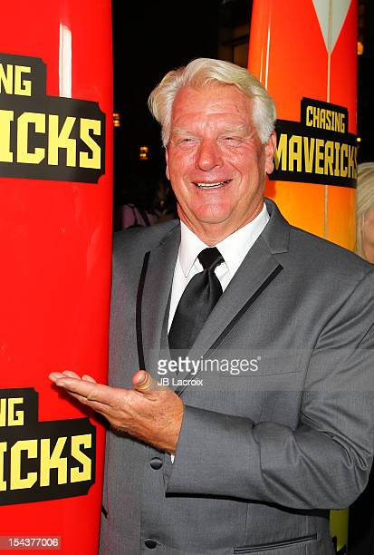 Frosty Hesson attends the Chasing Mavericks Los Angeles Premiere held at Pacific Theaters at the Grove on October 18 2012 in Los Angeles California