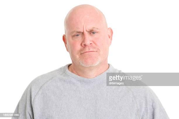 Frowning Man