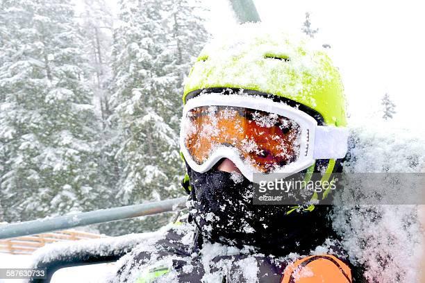 a frozen boy - kaukasus geografische lage stock-fotos und bilder