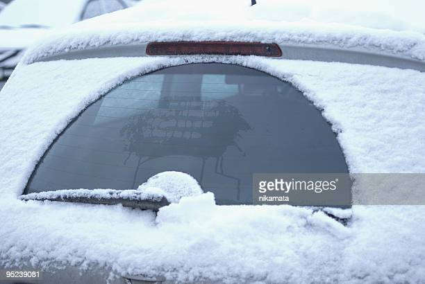 frozen car - windshield wiper stock photos and pictures
