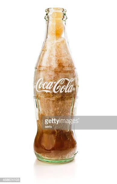 冷凍コカコーラボトル - コークス ストックフォトと画像