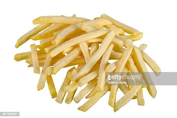 frozen french fries - fast food french fries stock pictures, royalty-free photos & images