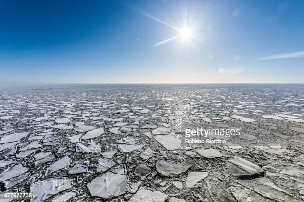 Frozen Gulf of Finland, Finland