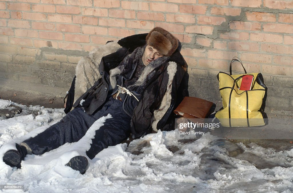 dead homeless man, skid row mission FULL