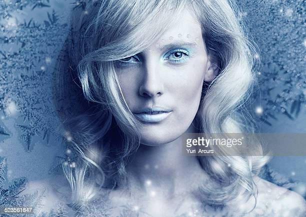 frozen in her perfection - fairy stock photos and pictures