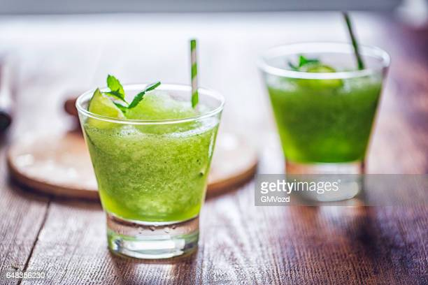 Frozen Mojito Cocktail