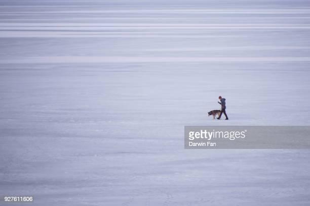 Frozen Payette Lake McCall, Idaho