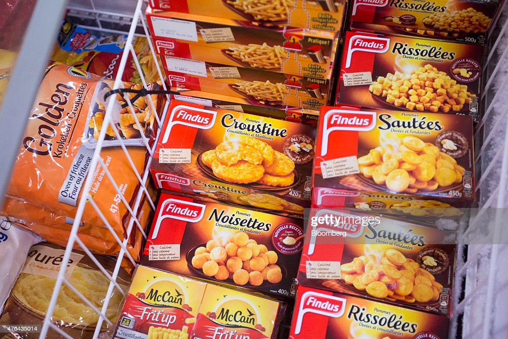 Findus Group Ltd. Frozen Foods Following Talks Of Acquisition By Nomad Holdings : News Photo