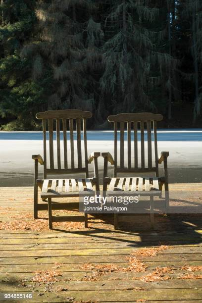 frozen sun loungers2 - frozen 2 stock pictures, royalty-free photos & images