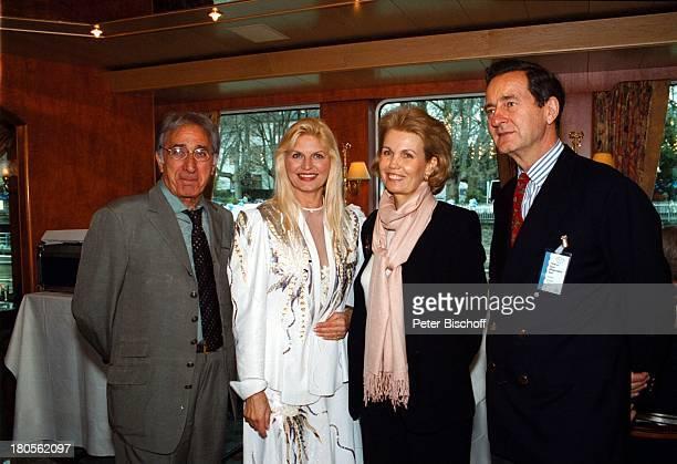 Fürst zu SaynWittgenstein und GattinMarlene Charell Ehemann Roger Pappini Schiffstaufe MS Swiss Crowndurch Prinzessin MarieLouise zuSchaumburgLippe...
