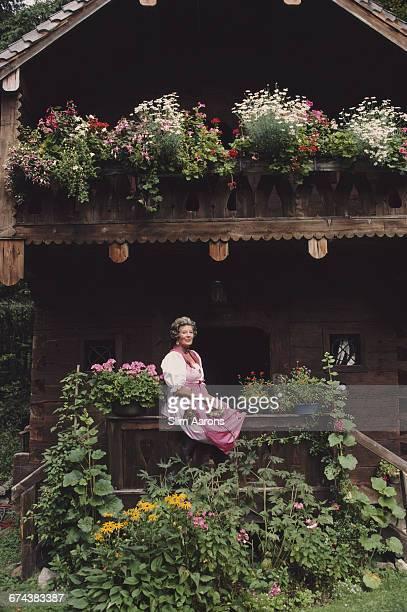 Fürstin Marianne SaynWittgensteinSayn in Austria 1986