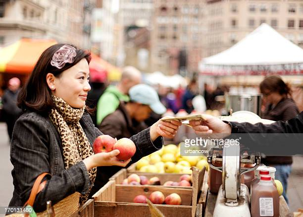 Fruit and veg market, New York City