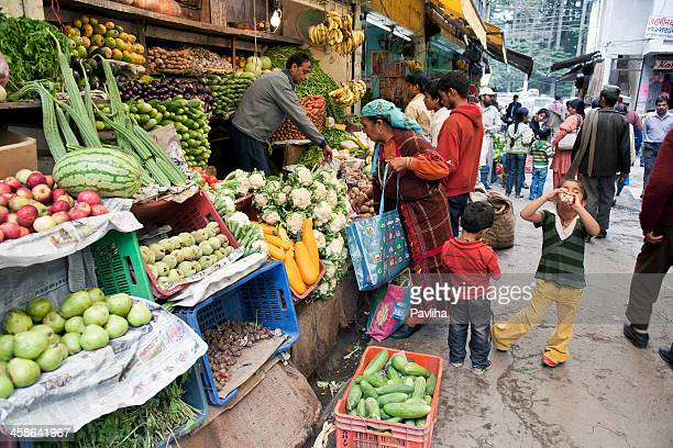 Fruit and Vegetable Market Northern India