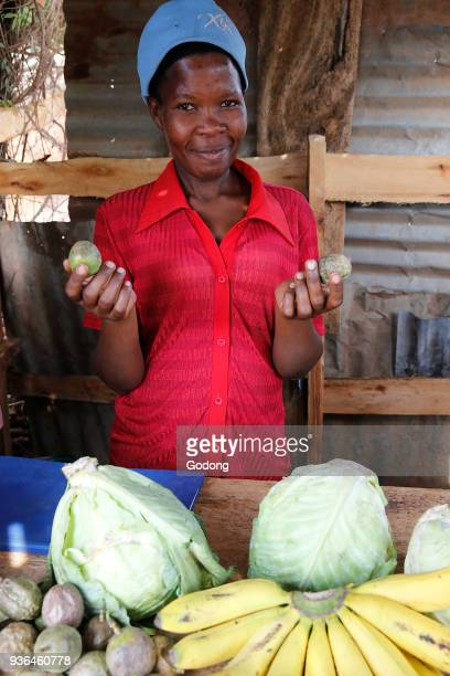 Fruit and vegetable shop in Mulago Uganda