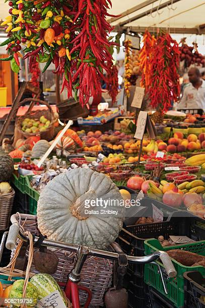 Fruit and vegetables at Campo de Fiori market